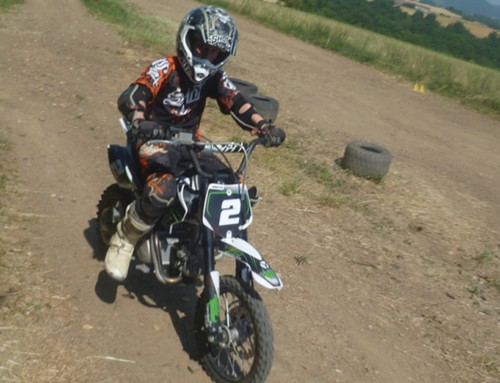 Stages moto enfants