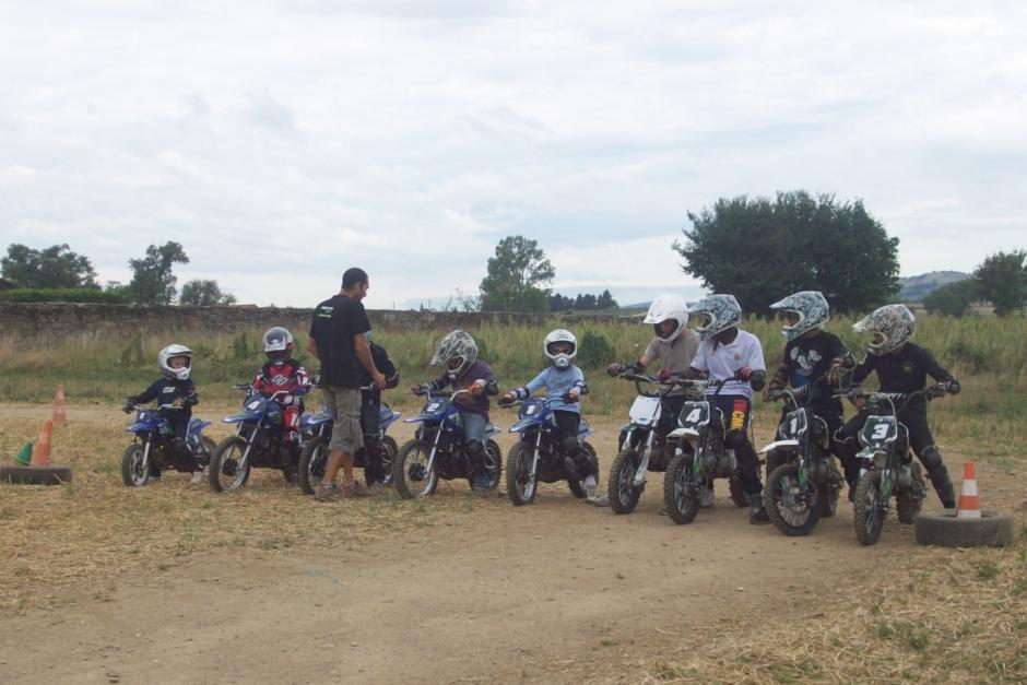 stage moto enfant