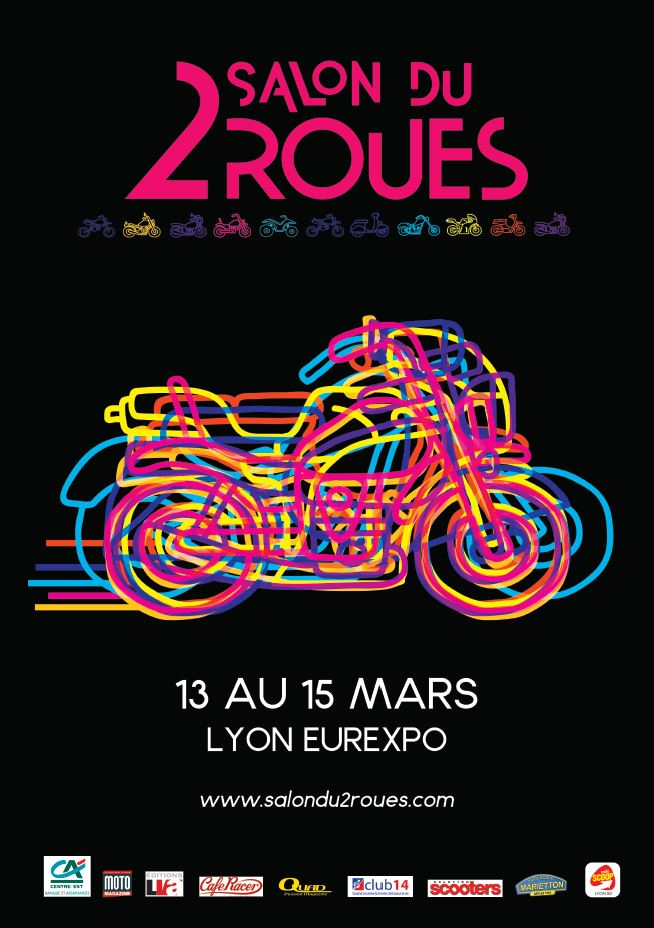 Salon du 2 roues du 13 au 15 mars 2015 lyon eurexpo for Salon lyon eurexpo