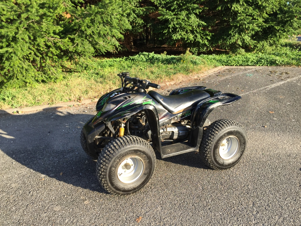 quad homologue a vendre