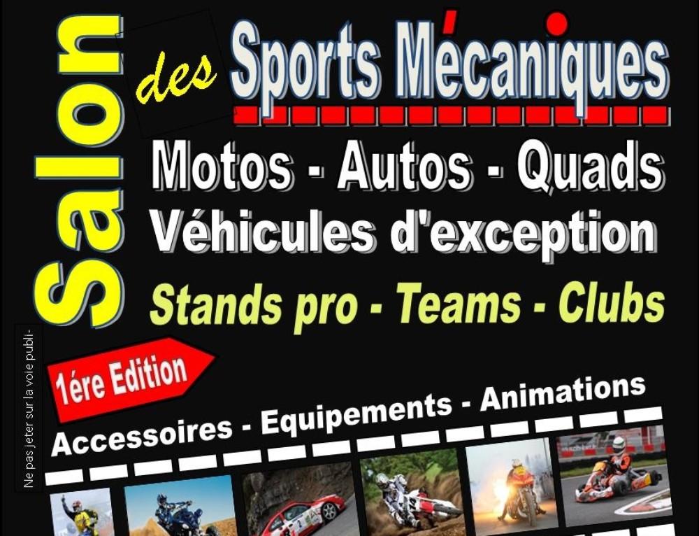 Salon Motos Quads et sports mécaniques – Saint Etienne (42)