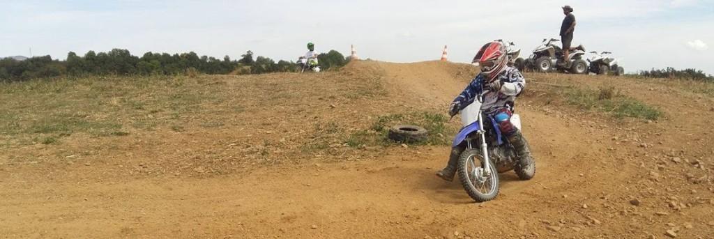 stage de pilotage motocross