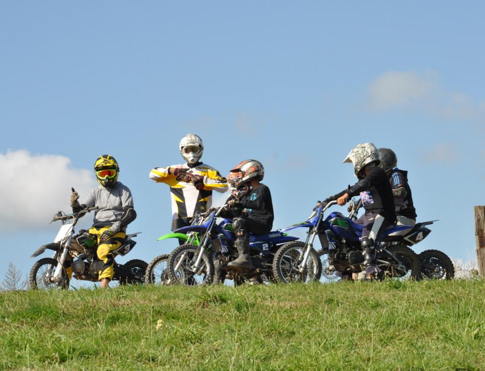 Stages motocross et quad vacances de fevrier
