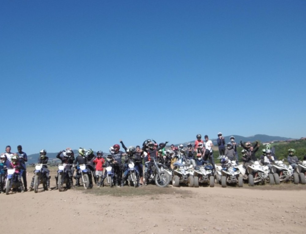 Colonies et stages motocross et quad vacances d'avril
