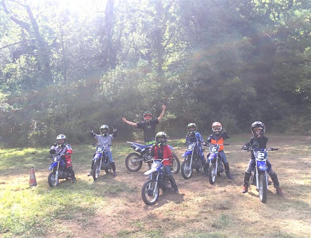 Colonies et stages motocross et quad vacances d'Automne