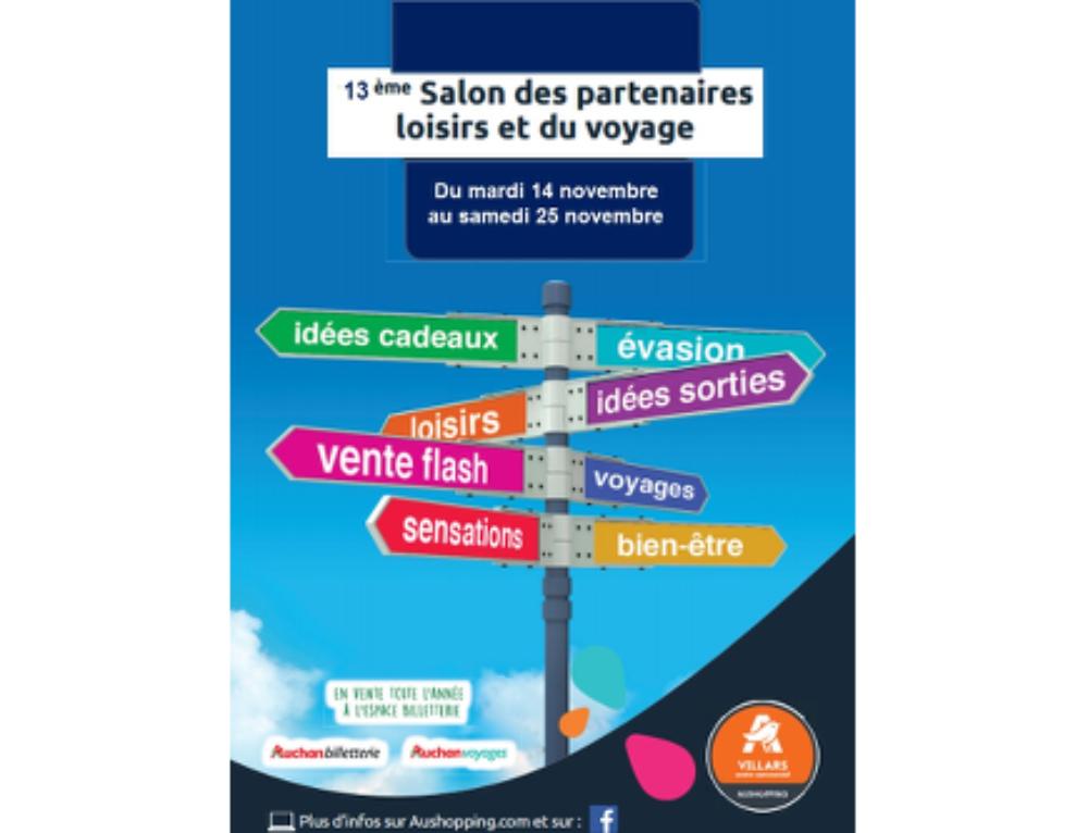 Retrouvez nous au 13ème Salon des Loisirs Auchan Villars