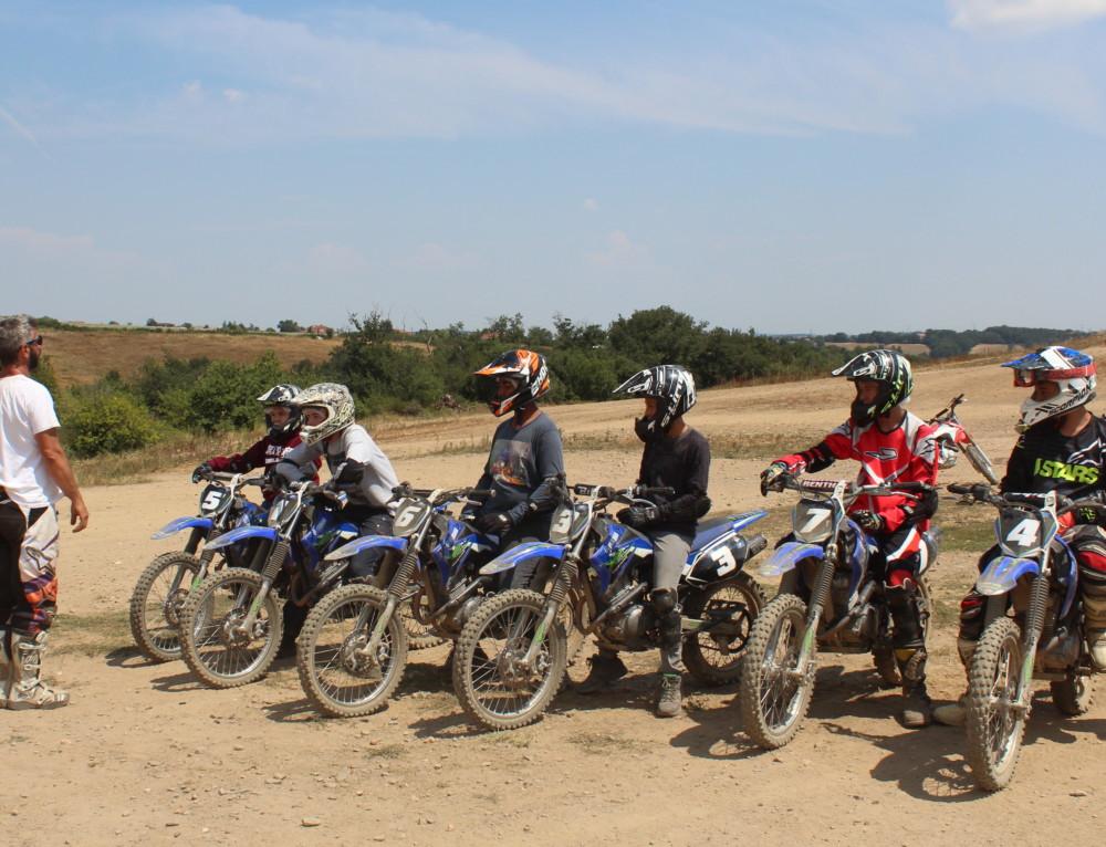 Les vacances d'Automne sont déjà là, venez profiter de nos stages moto et quad