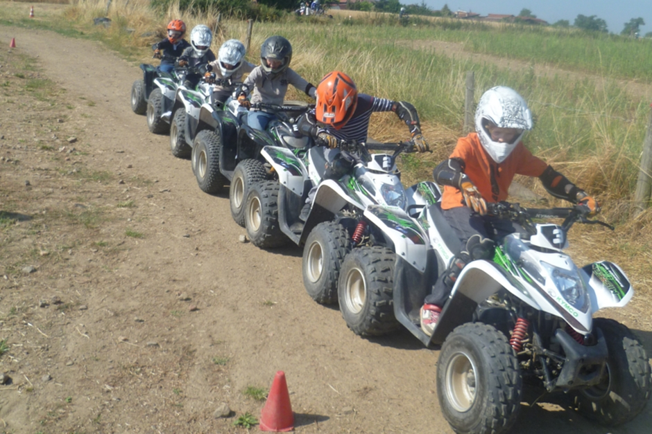 stage quad enfants et adolescents