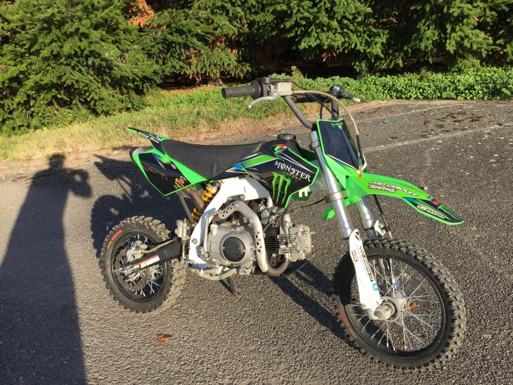 125 Ycf Pilot Monster Energy Moto Dirt Bike