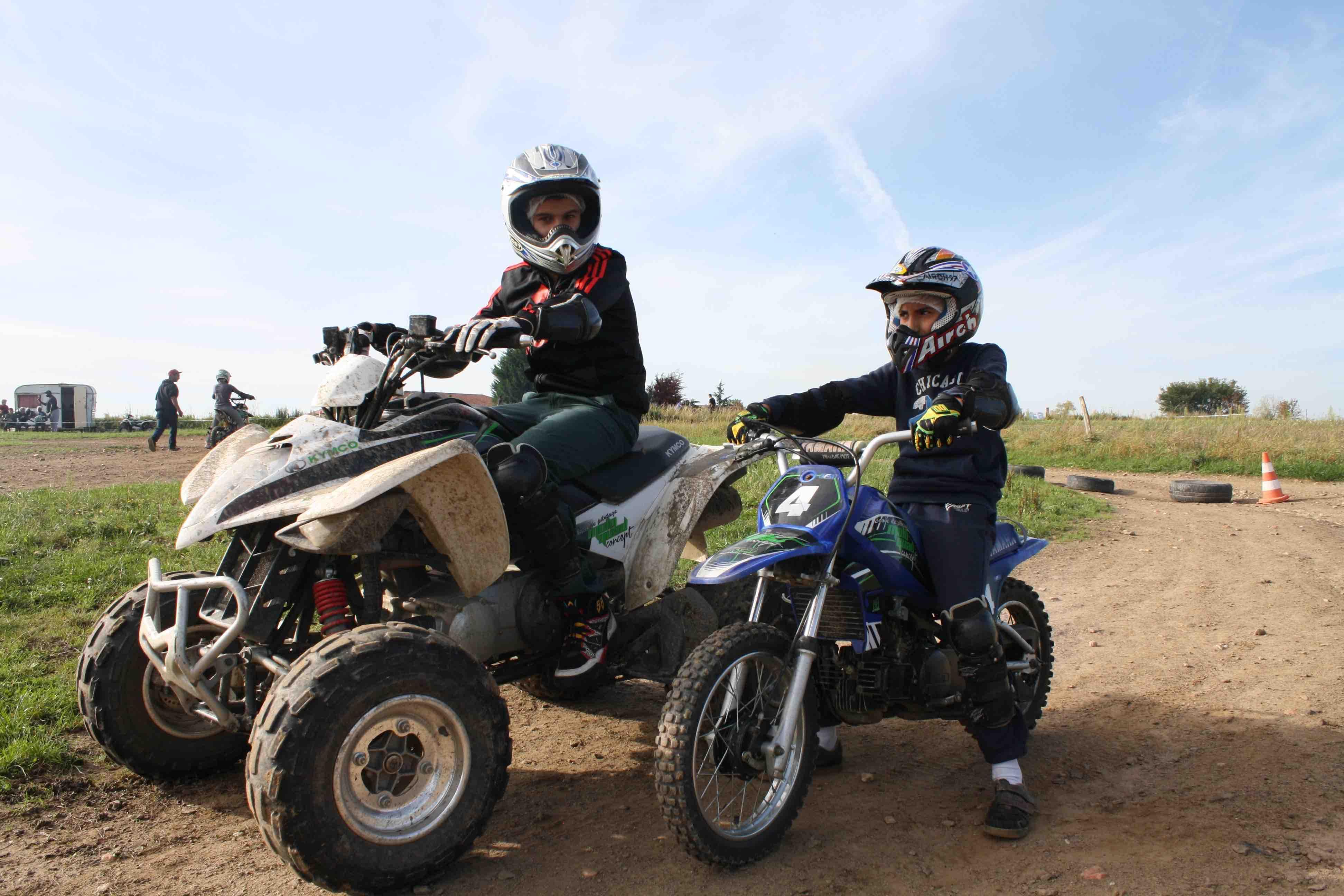 ecole de pilotage moto quad