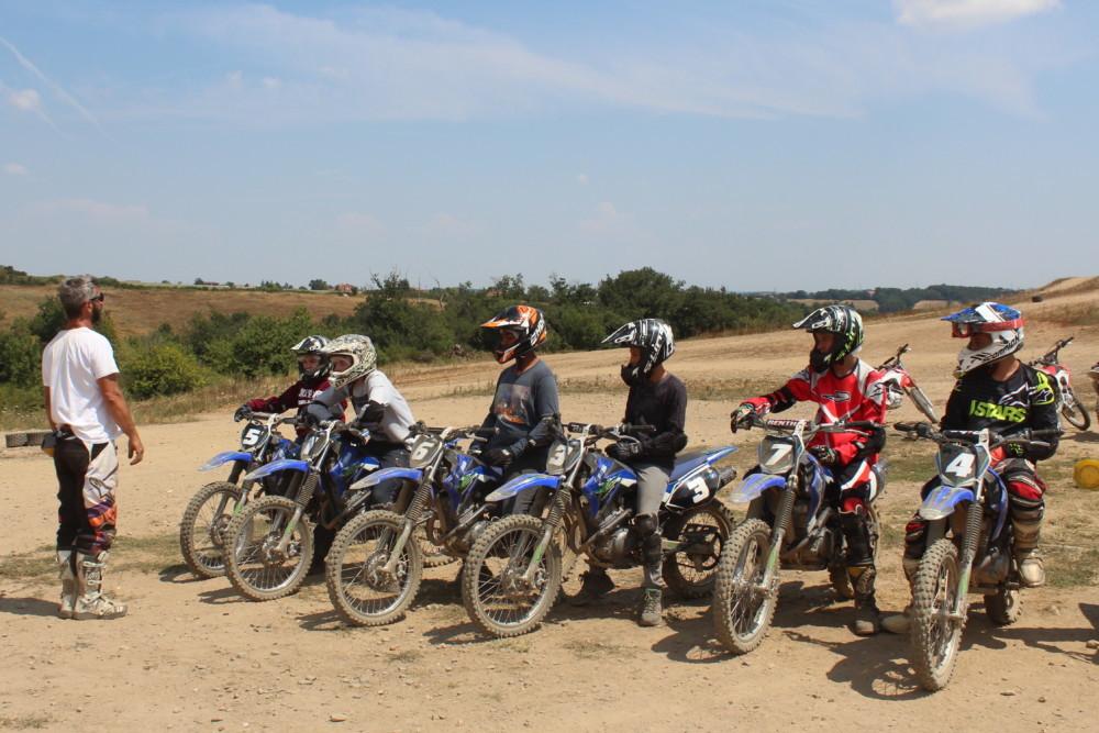 séjour motocross