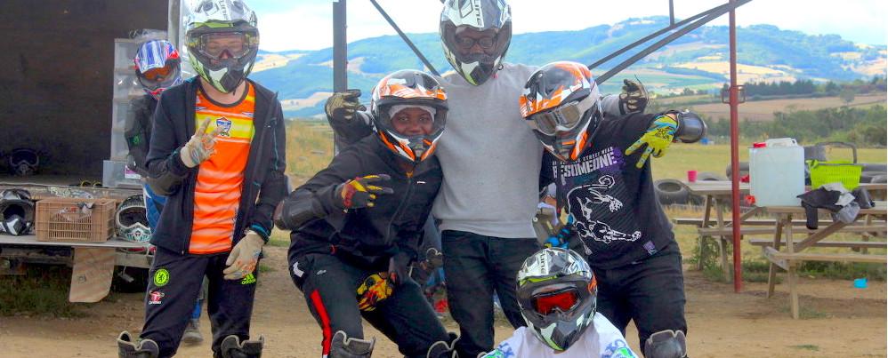 colonie moto cross quad
