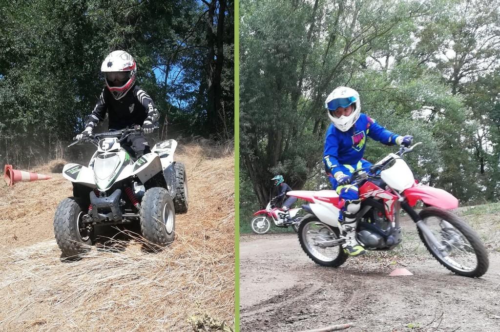 stage 100% moto et 100% quad